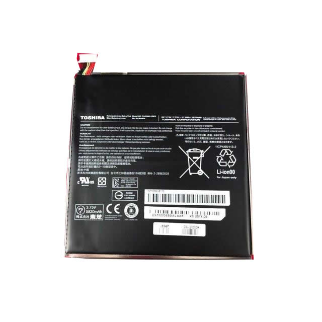 Toshiba PA5204U-1BRS,2 WT10-A-109, 2 WT8-B-006 3.75V 5820mAh Original Laptop Battery